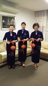 RMCA members in traditional Chinese costumes
