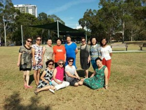 RMCA members at Foreshore Park Rhodes