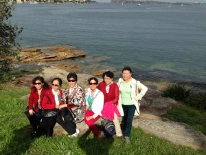 RMCA members on an excursion