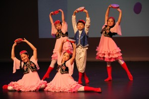 The Southern Star Performing Arts dance group performed at the 2014 Rhodes Moon Festival