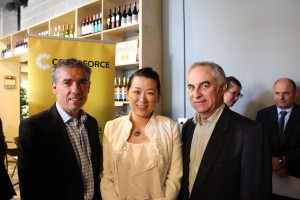 RMCA Secretary Yuehan Zhang with newly appointed Patrons of RMCA Angelo Tsirekas Mayor and Michael Megna Councillor of City of Canada Bay
