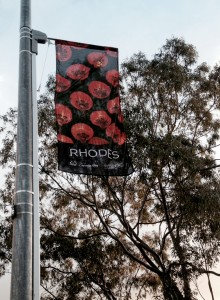 City of Canada Bay Banner promoting 2014 Rhodes Moon Festival